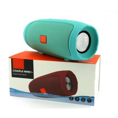 Портативная беспроводная Bluetooth колонка Charge mini 3+ USB FM Green