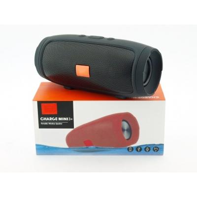 Портативная беспроводная Bluetooth колонка Charge mini 3+ USB FM Black