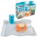 Вакууматор, Вакуумный упаковщик ручной для продуктов NBZ Vacuum Sealer Always Fresh в наборе 6 шт