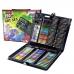 Детский набор для творчества и рисования в чемоданчике 150 предметов NBZ Art Set Black