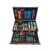 Набор для рисования и творчества в деревянном чемодане NBZ Kids Art Set 123 предмета