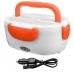 Ланч бокс автомобильный с подогревом NB Electric Lunch Box от прикуривателя 12 В с двумя контейнерами Orange