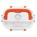 Ланч бокс с подогревом NBZ Electric Lunch Box от сети 220В с двумя контейнерами Orange