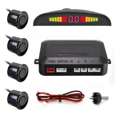 Парктроник автомобильный NBZ Assistant Parking Sensor на 4 датчика Black
