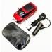 Антирадар NBZ Full Band 360° ORIGINAL Красный| Автомобильный радар-детектор камер в виде машинки