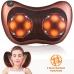 Массажная роликовая подушка для массажа спины шеи и всего тела Massage Pillow