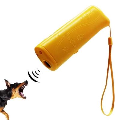 Ультразвуковой отпугиватель собак c фонарем NBZ Super Ultrasonic AD-100 Yellow