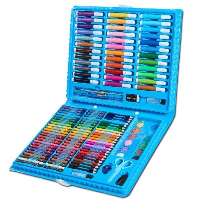 Детский набор для творчества и рисования в чемоданчике 150 предметов NBZ Art Set Blue