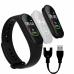 Фитнес браслет Smart Band M4 Black  шагомер, цветной дисплей, измерение давления и пульса
