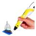 3D-ручка с экраном 3DPen-2 с Эко Пластиком PLA (9 метров ) 3Д Ручка Yellow