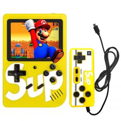 Портативная приставка Sup 400 Game Box с джойстиком для второго игрока Yellow