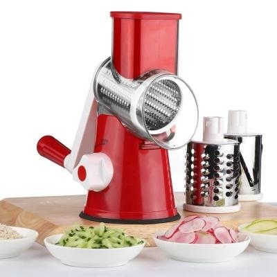 Овощерезка мультислайсер для овощей и фруктов NBZ Kitchen Master Red