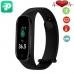 Фитнес браслет Smart Band M5 PRO Black| Термометр, шагомер, цветной дисплей, измерение давления и пульса