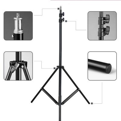 Стойка штатив-тринога light STAND для установки студийного освещения 70-210 см| Штатив для кольцевой лампы