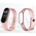 Фитнес браслет Smart Band M5 PRO Pink| Термометр, шагомер, цветной дисплей, измерение давления и пульса