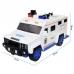 Детский сейф копилка с кодом и отпечатком пальца в виде полицейской машины NBZ Cash Truck White
