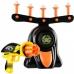 Воздушный тир детский игровой набор Disruptor Hover Shot | Пистолет с шестизарядным барабаном и летающими мишенями