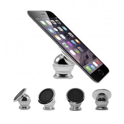 Магнитный держатель для телефона NBZ CT690 Silver