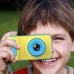 Цифровой детский фотоаппарат Smart Kids Camera детская фото-видеокамера Yellow-Blue