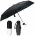 Мини зонт в капсуле NBZ Capsule Umbrella Black карманный зонт в футляре