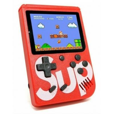 Портативная приставка Sup 400 Game Box 8bit Red