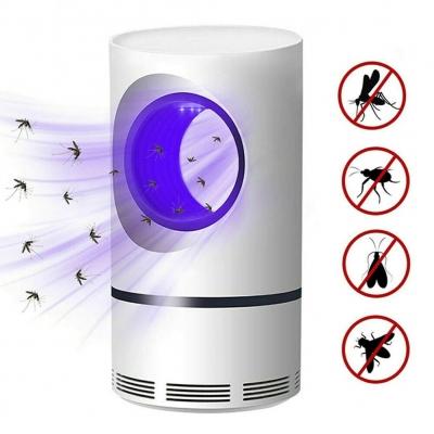 Лампа ловушка уничтожитель комаров и насекомых Mosquito Killer BIG White