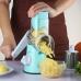 Овощерезка мультислайсер для овощей и фруктов NBZ Kitchen Master Blue