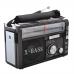 Радиоприёмник колонка с радио FM USB MicroSD и фонариком Golon RX-381 Black на аккумуляторе