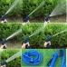 Садовый шланг для полива NBZ Magic Hose 22,5 м Blue саморастягивающийся X-HOSE + Распылитель