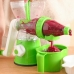 Соковыжималка ручная шнековая многофункциональная для фруктов и овощей Find Back Juicer Зеленая