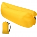 Надувной шезлонг ламзак, диван, лежак, матрас Premium GT GoodTake Желтый с карманом и чехлом 2,45 м
