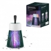 Лампа отпугиватель насекомых от аккумулятора Electric Shock Mosquito Lamp с электрическим током