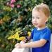 Детский пистолет с самолетиком Space Bus Power планер катапульта Синий