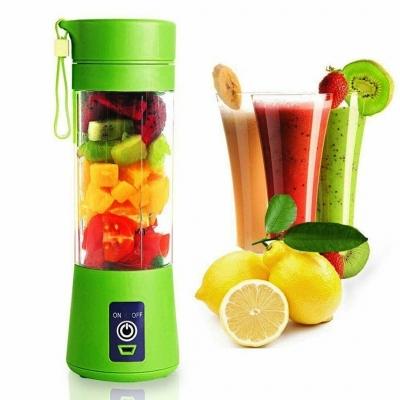 Портативный фитнес-блендер NBZ Juice Cup Smoothie Blender 2 ножа с аккумулятором Green