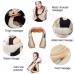 Массажер роликовый Shiatsu Massager of Neck Kneading для шеи, плеч и всего тела с подогревом 4 кнопки