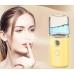 Портативный увлажнитель для кожи лица нано спрей NBZ Nano Mist Soraver 30 мл Yellow