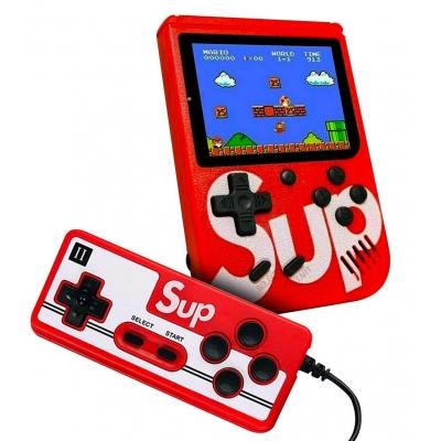 Портативная приставка Sup 400 Game Box с джойстиком для второго игрока Red
