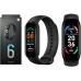 Фитнес браслет Smart Band M6 Black| С магнитной зарядкой, шагомер, цветной дисплей, измерение давления и пульса