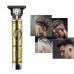 Машинка для стрижки волос триммер для ухода окантовки и рисунков бороды, усов на аккумуляторе Hair Clipper T9 Будда