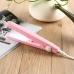 Мини плойка утюжок для выпрямления волос ProGemei GM-2990 Pink, дорожный утюжок с керамическим покрытием