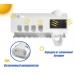 Диспенсер для зубной пасты и щеток автоматический NBZ Toothbrush sterilizer, УФ-стерилизатор щеток