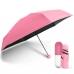 Мини зонт в капсуле NBZ Capsule Umbrella Pink карманный зонт в футляре
