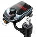 FM-трансмиттер автомобильный bluetooth модулятор NBZ Car D5 2USB 2.1A