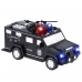 Детский сейф копилка с кодом и отпечатком пальца в виде полицейской машины NBZ Cash Truck Black