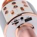 Беспроводной караоке микрофон WSTER WS-1688 NBZ Bluetooth USB AUX FM Rose Gold