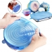 Набор силиконовых крышек для посуды NBZ универсальные 6 шт