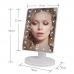 Зеркало для макияжа NBZ Large LED Mirror настольное с подсветкой 22 LED White