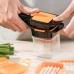 Универсальная овощерезка измельчитель Nicer Dicer Quick 5 в 1 Orange мультислайсер