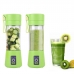 Портативный фитнес-блендер NBZ Juice Cup Smoothie Blender 4 ножа с аккумулятором Green