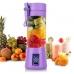 Портативный фитнес-блендер NBZ Juice Cup Smoothie Blender 2 ножа с аккумулятором Purple